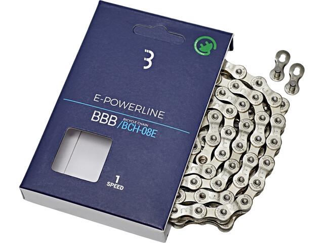 BBB E-Powerline E-Bike BCH-01E Cykelkæde Singlespeed sølv (2019) | Chains